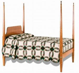 Amish Shaker Pencil Post Bed