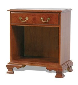 Amish Open Colonial Night Stand