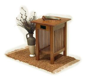 Amish American Mission Side End Table