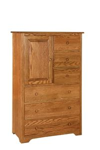 Amish Shaker Gentleman's Chest of Drawers
