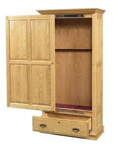 Amish Sliding Door Gun Cabinet Choose 6 or 8 Gun Capacity
