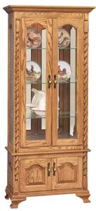 Amish Picture Frame Curio Cabinet