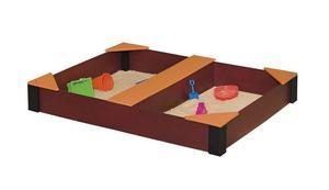 Amish Rectangle Kids Sandbox