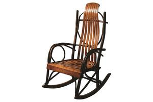 Hickory Twig Oversized Amish Rocker