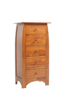 "Amish Bordeaux 28"" Lingerie Chest"