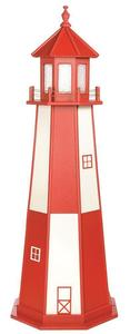 Amish Custom Crafted Lawn Lighthouse Cape Henry Style