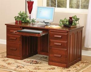 Amish Flat Top Home Office Desk
