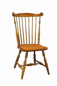 Amish Asheville Fanback Windsor Dining Chair