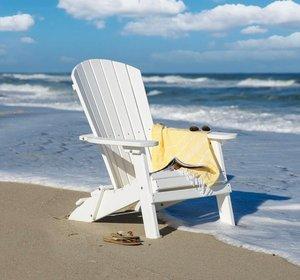 Amish Folding Poly Adirondack Chair