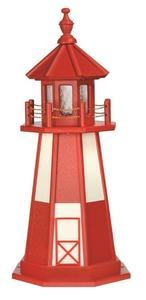 Amish Poly Custom Crafted Lawn Lighthouse Cape Henry