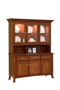 Amish Concord Three Door Hutch