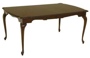 Amish Queen Anne Dining Room Table