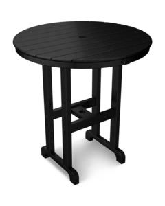 "POLYWOOD® Round 36"" Counter Table"