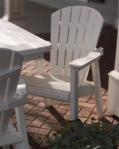 POLYWOOD® Seashell Casual Lounge Chair