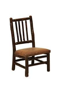 Amish Rustic Wood Child's Chair