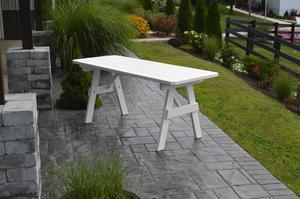Amish Pine Wood Traditional Outdoor Table