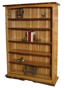 Amish Hilltop Rustic Bookcase