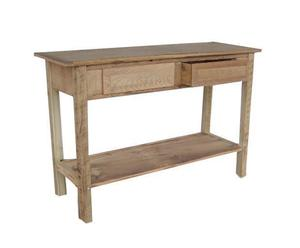 Amish Barnwood Console Table with Drawers