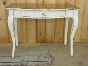 Amish Barnwood Bowfront Writing Desk