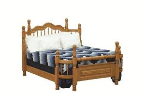 Amish Early American Wrap Around Bed