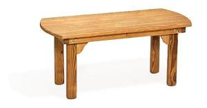 Amish Pine Wood Kings Garden Coffee Table