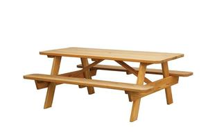 Amish Pine Picnic Table with Benches