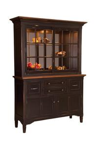 Amish Lexington Sliding Door Hutch