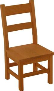 Amish Oak Wood Child's Chair