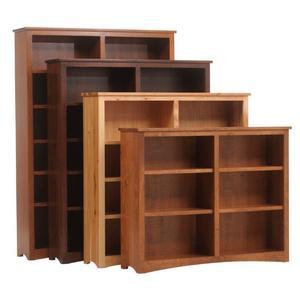 Amish Furniture Prairie Mission Bookcase