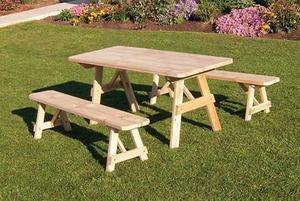 Amish Cedar Outdoor Dining Set