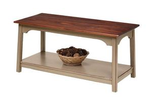 Amish Farmhouse Coffee Table in Pine Wood