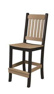 Berlin Gardens Mission Style Poly Counter Side Chair