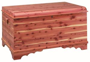 Amish Jumbo Summerfield Waterfall Cedar Hope Chest