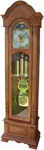Amish Handcrafted Columbia Grandfather Clock with Auto Night Silencer