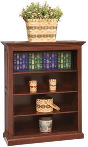Amish Crafted Raised Panel Bookcase