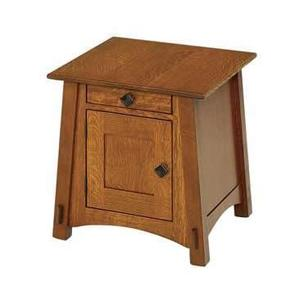 Amish McCoy Mission Enclosed End Table