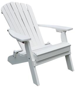 Amish Folding and Reclining Poly Adirondack Chair