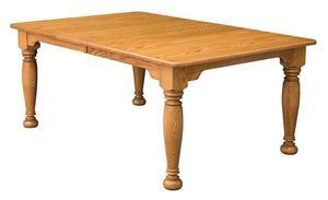 Amish Jolie Leg Dining Table