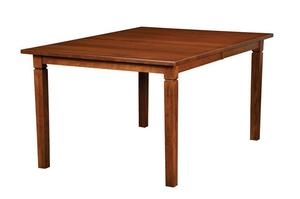 """Amish Handcrafted Parkland Rectangular Dining Table 36"""" Width"""