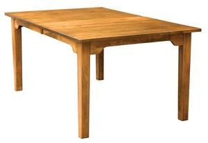 Amish Handcrafted Shaker Dining Table
