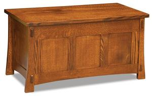 Amish Modesto Cedar Lined Mission Blanket Chest
