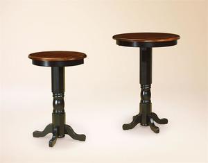 Amish Bistro Pedestal Table