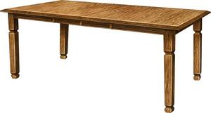 Amish Estate Dining Room Table