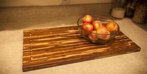 Tiger Bamboo Rectangular Cutting Board