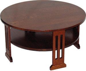 Amish Contempo Round Coffee Table