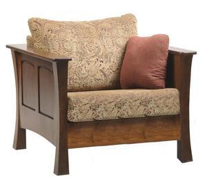 Amish Woodbury Lounge Chair