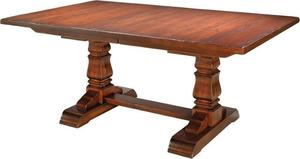 Amish Provincial Cottage Extension Table