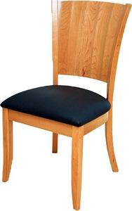 Amish Contemporary Ripple Back Dining Chair