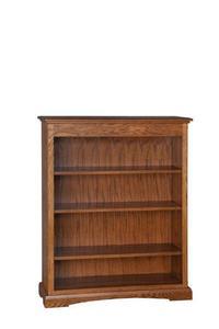 "Amish 48"" Three Shelf Bookcase"