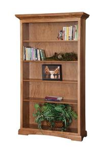 "Amish Solid Wood 72"" Tall Bookcase"